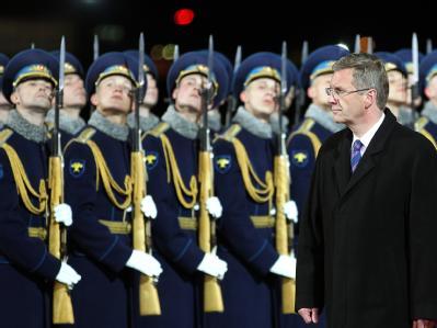 Bundespräsident Wulff in Russland