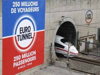 ICE im Eurotunnel
