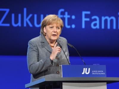 Deutschlandtag der Jungen Union - Merkel