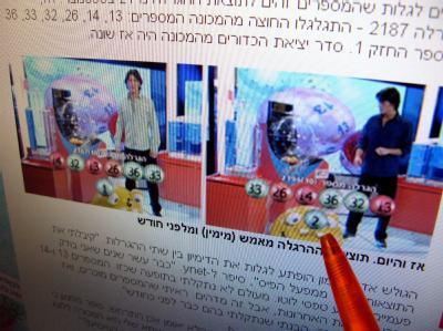 13, 14, 26, 32, 33 und 36 - diese Kombination wurde am Wochenende beim Lotto in Israel gezogen, genauso wie bereits vor gut vie Wochen.