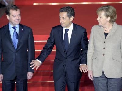 Dreiergipfel in Frankreich
