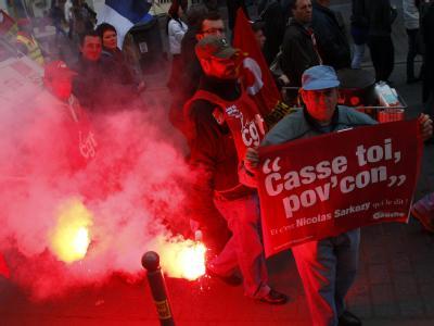 Demonstrationen gegen Rentenreform gehen weiter