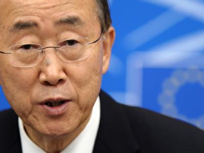 UN-Generalsekretär Ban Ki-moon (Archivbild).