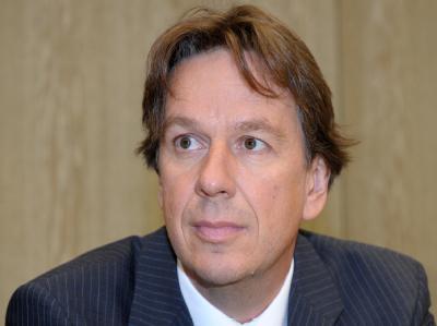 Wettermoderator Jörg Kachelmann zu Beginn seines Prozesses Anfang September im Landgericht Mannheim
