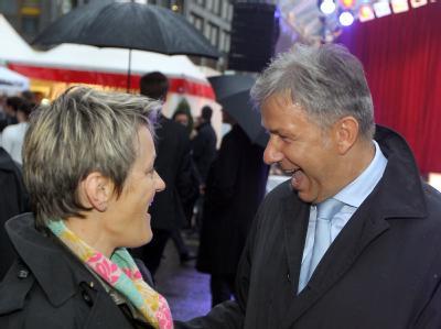 Renate Künast und Klaus Wowereit. Am 18. September 2011 kommt es zum Wahl-Duell.