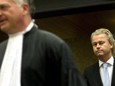 Der Rechtspopulist Geert Wilders hatte mit dem Befangenheitsantrag Erfolg.