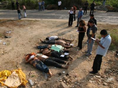 Ermordete Mexikaner