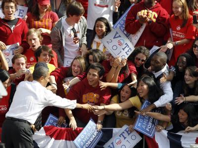 Obama im Wahlkampf