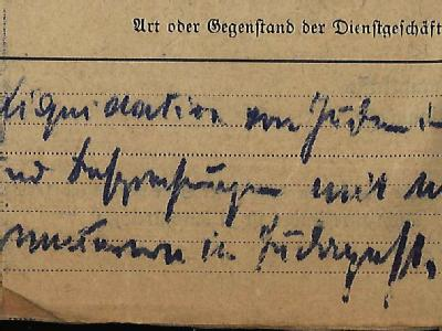Ein Ausschnitt der Reisekostenabrechnung des Leiters des sogenannten Judenreferats im Auswärtigen Amt, Franz Rademacher mit dem handschriftlichen den Vermerk «Liquidation von Juden».