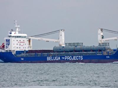 Der Frachter «Beluga Fortune» ist wieder frei.