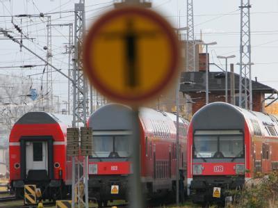 Warnstreiks bei der Bahn