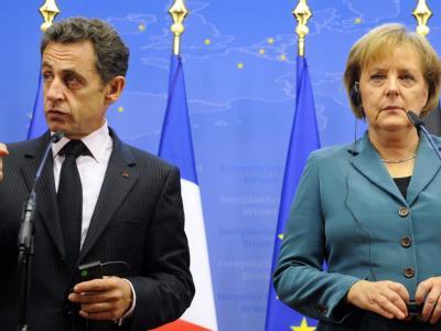 Der französische Präsident Nicolas Sarkozy und Bundeskanzlerin Angela Merkel (Archivbild).