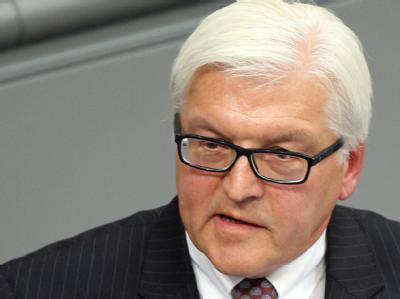Spendete erst kürzlich seiner Frau eine Niere: Der Fraktionsvorsitzende der SPD, Frank-Walter Steinmeier