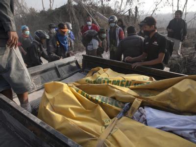 25 Tote durch Vulkanausbruch
