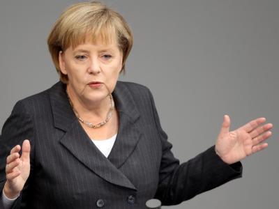 Bundeskanzlerin Angela Merkel schließt Steuersenkungen bis auf weiteres aus.
