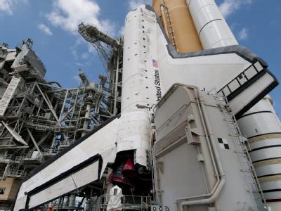 US-Raumfähre «Discovery»: Der Start soll nun am kommenden Mittwoch erfolgen.