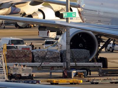 Flugzeuge auf dem John F. Kennedy International Airport in New York: In Deutschland werden die Kontrollen von Paketen aus dem Jemen verschärft.