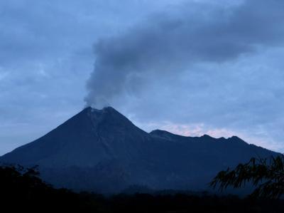 Merapi-Ausbruch überzieht Land mit Asche