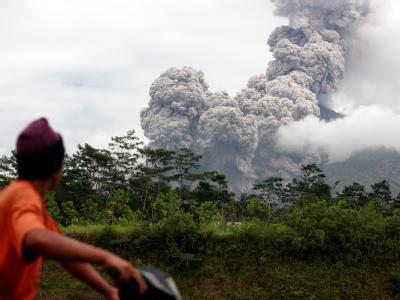 Vulkan Merapi