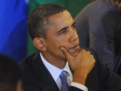 Nach der Schlappe bei der Kongresswahl bot US-Präsident Obama der Opposition die Zusammenarbeit an.