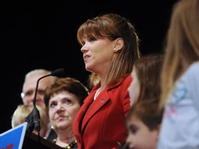 Christine O'Donnell ist mit ihrer Kandidatur für einen Senatssitz gescheitert.