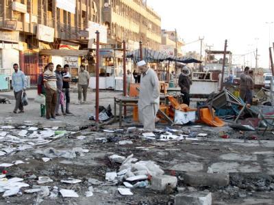 Bei den Bombenanschlägen am vergangenen Dienstag sind 64 Menschen ums Leben gekommen.