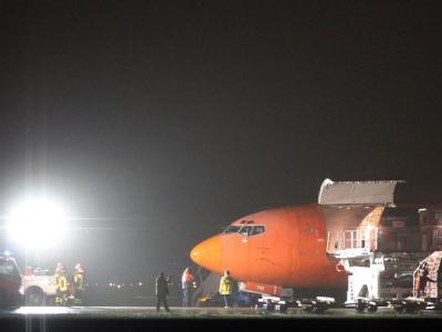 Die Frachtmaschine musste in Bologna außerplanmäßig landen.