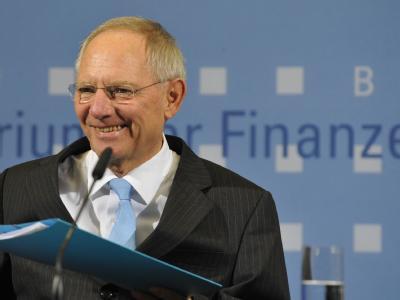 Bundesfinanzminister Wolfgang Schäuble (CDU) sieht Deutschland als «Wachstumslokomotive».