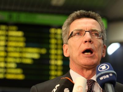 Bundesinnenminister Thomas de Maizière warnt vor weiteren Terrorakten. (Archivbild)