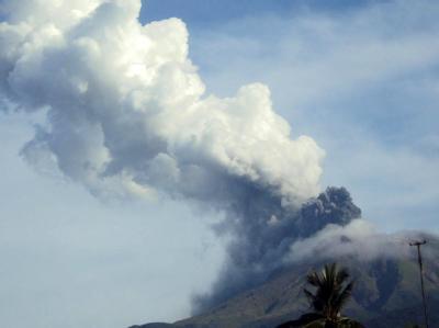 Aus der Umgebung des Bulusan sollen rund 80 000 Menschen in Sicherheit gebracht werden.