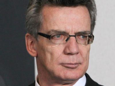 Bundesinnenminister Thomas de Maizière - hier bei einem EU-Innenministertreffen am 8. November.