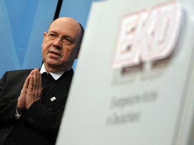 Nikolaus Schneider ist zum neuen Chef der Evangelischen Kirche in Deutschland gewählt worden.