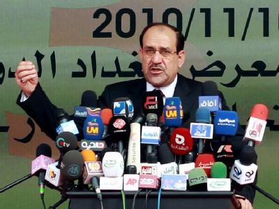In einer neuen Regierung wird der Shiit Nuri al-Maliki Iraks Ministerpräsident bleiben.