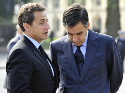 Frankreichs Präsident Nicolas Sarkozy und Ministerpräsident Francois Fillon. (Archivfoto)