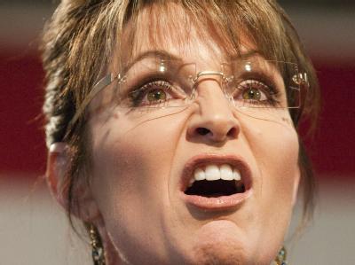 Muss ihre Homepage derzeit vor Angriffen von Hackern schützen: US-Politikerin Sarah Palin. (Archivbild)