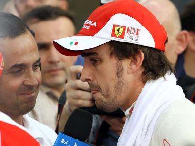«Ich bin traurig und enttäuscht»: Der spanische Formel-1-Rennfahrer Fernando Alonso