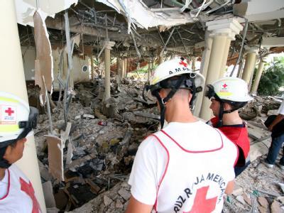 Gasexplosion in Hotel bei Cancun