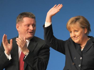 Merkel und Gr�he