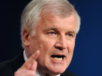CDU-Parteitag - Rede Seehofer