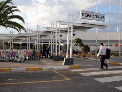 Flughafen in Windhuk