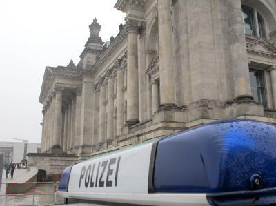 Erhöhte Wachsamkeit in Berlin