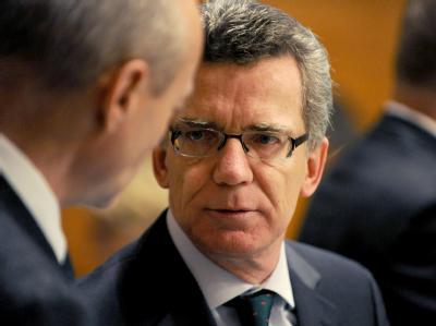 Das verdächtige Gepäckstück in Namibia soll ein Test zum Schmuggel von Bomben gewesen sein, sagte Innenminister De Maizière.