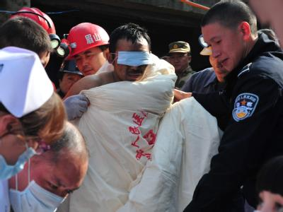 Bergleute in China gerettet