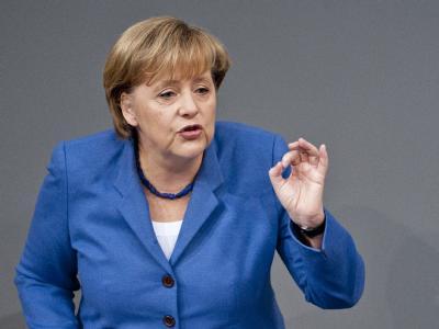 «Wenn es so weitergeht, werden die Grünen für Weihnachten sein, aber gegen die vorgeschaltete Adventszeit.» - Bundeskanzlerin Angela Merkel (CDU) am 24. November in der Haushaltsdebatte des Bundestages. (Archivbild)