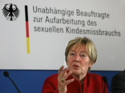 Die Beauftragte der Bundesregierung zur Aufarbeitung des sexuellen Kindesmissbrauchs, Christine Bergmann.