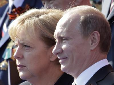 Bundeskanzlerin Angela Merkel und der russische Ministerpräsident Wladimir Putin. (Archivbild)