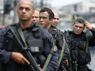 Polizei in Rio