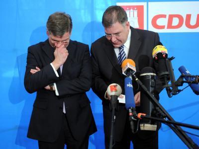 Frank Schira und Christoph Ahlhaus
