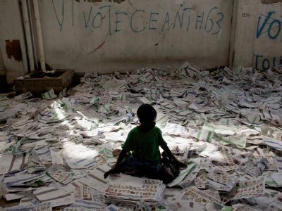 Nach Chaoswahlen in Haiti
