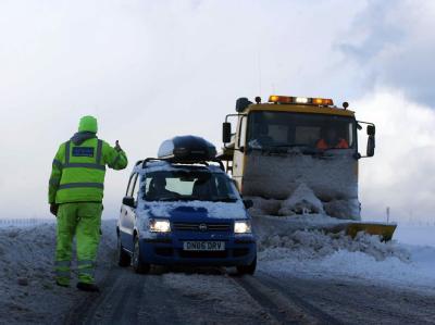 Besonders hart hat es Großbritanniens Norden getroffen: Inden schottischen Highlands fielen die Temperaturen auf beinahe minus 20 Grad.
